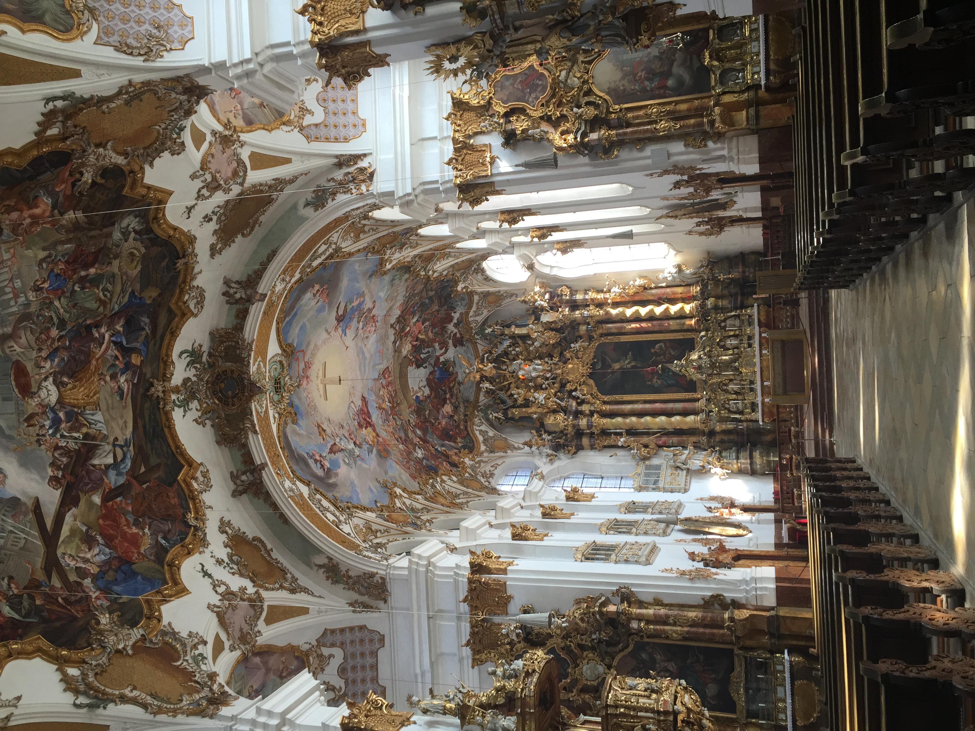 The Heiligkreuzkirche