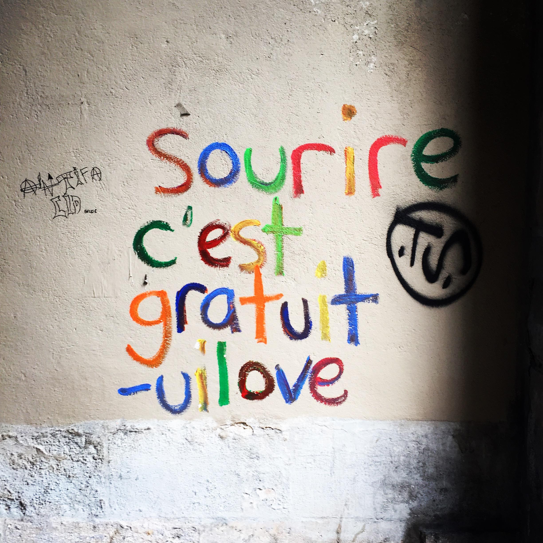A Wall Near Place des Vosges, Paris, France