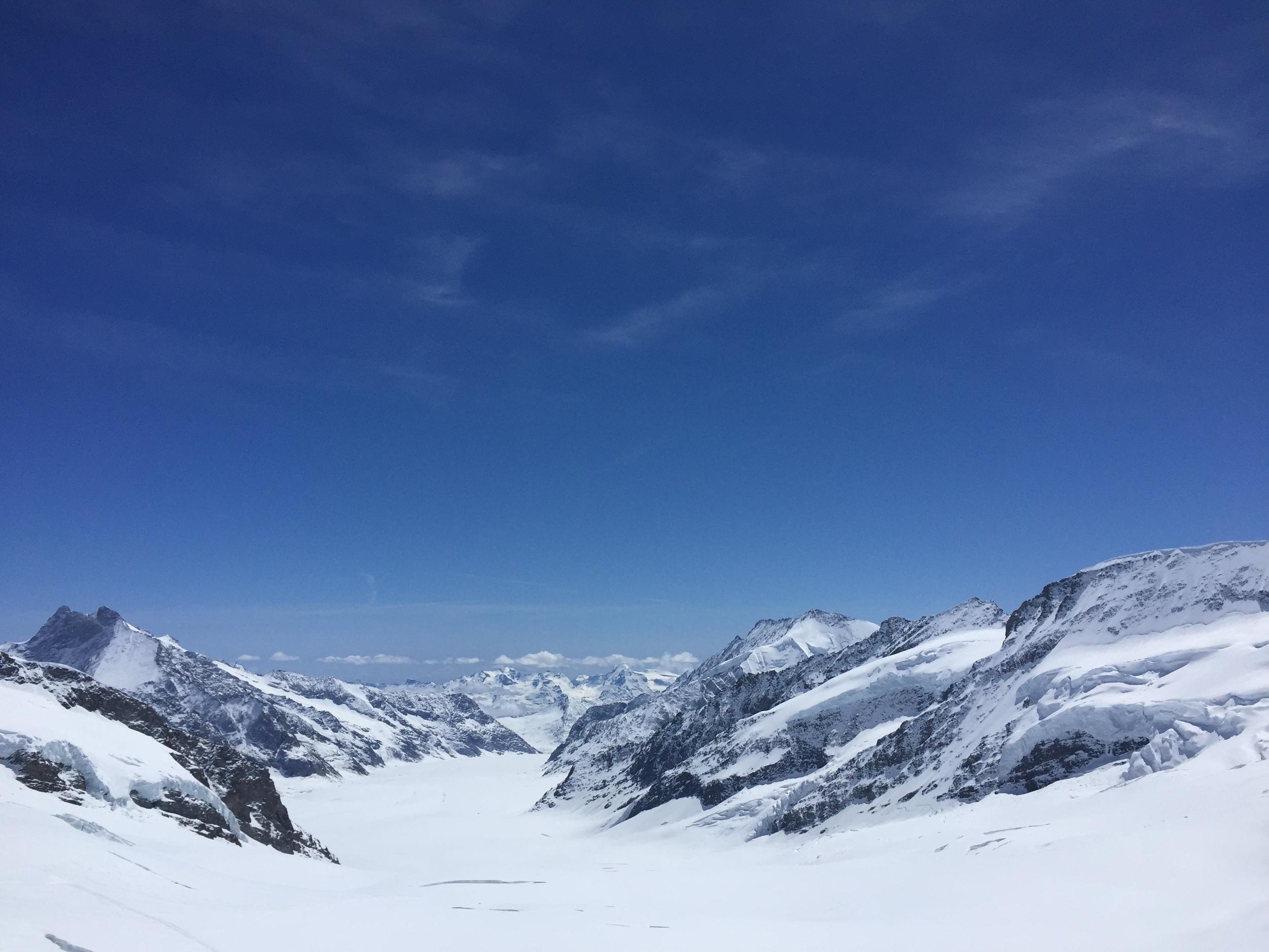 Aletsch Glacier, Jungfrau Region, Switzerland