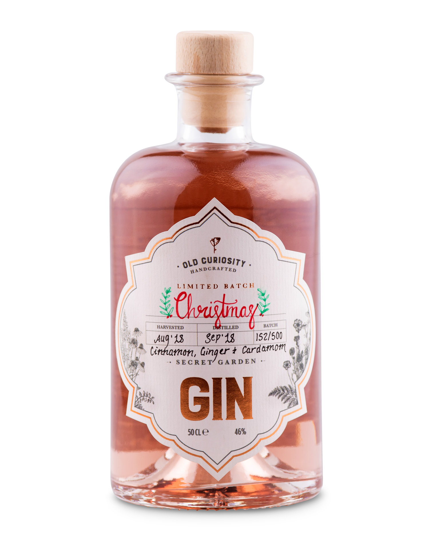 This year's Old Curiosity Gin. It's a small batch, so when it's gone that's it.