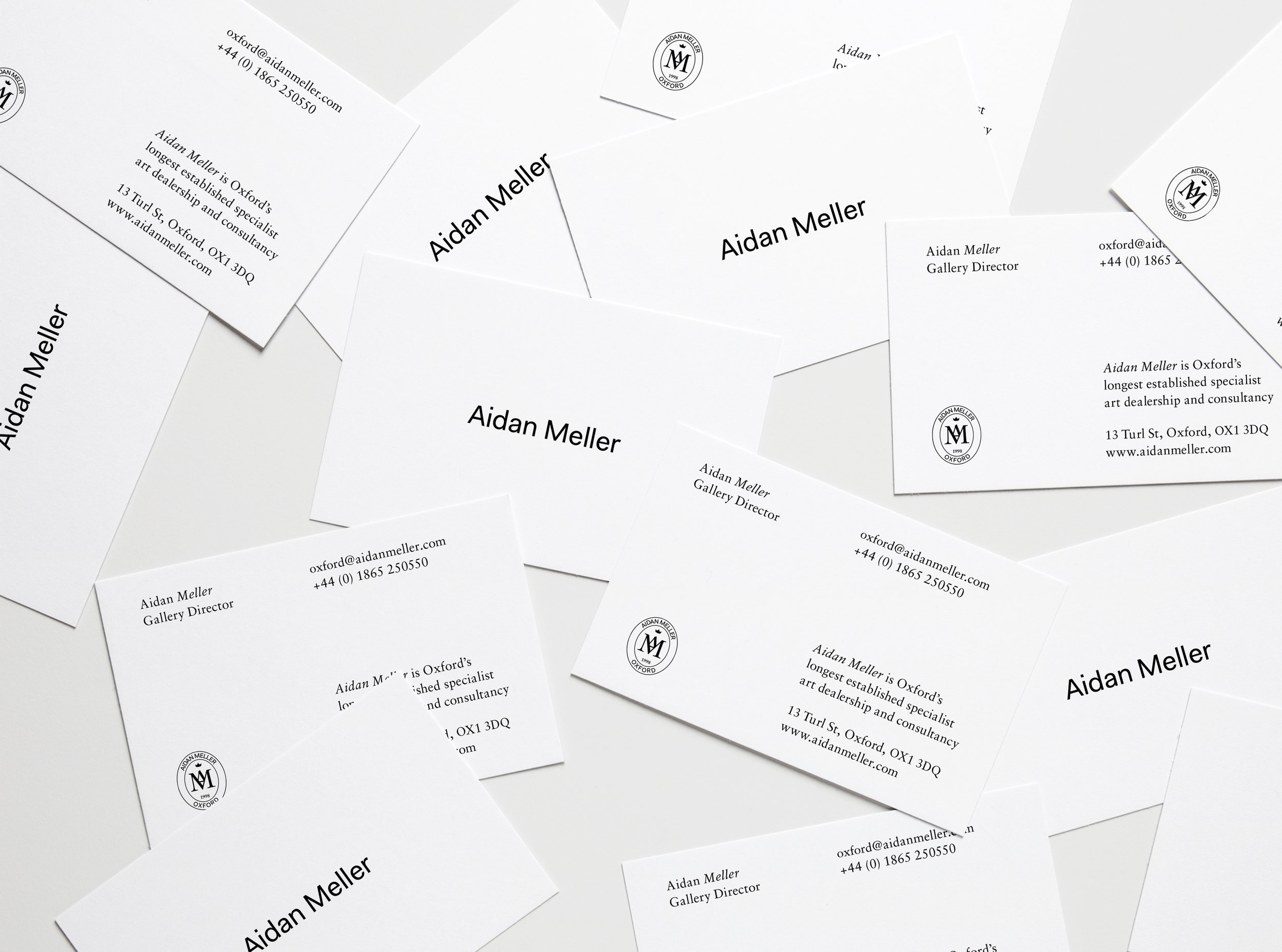 Aidan Meller — Branding, Layout, Web Design, Strategy