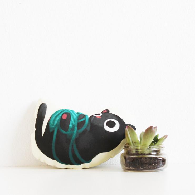 our best seller! The Little Black Kitten!
