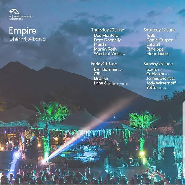 We can't wait for the Anjunadeep Explorations in Albania this summer with this amazing gang 💫  @anjunadeep  @anjunadeepexplorations