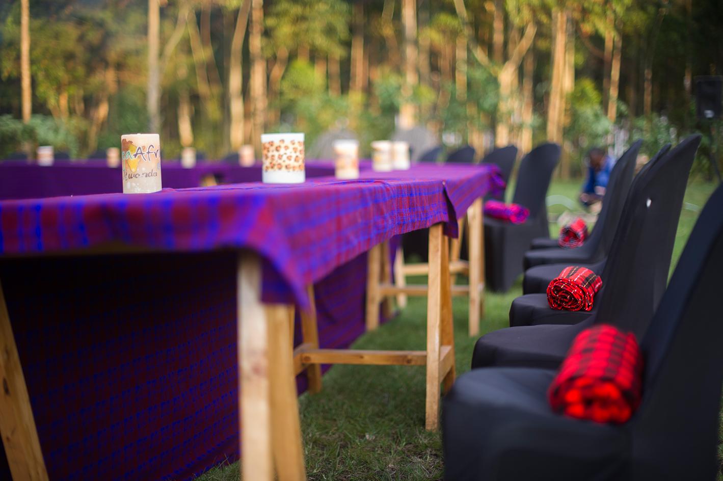 Songa Africa Bush Dinner, Volcanoes National Park, Rwanda