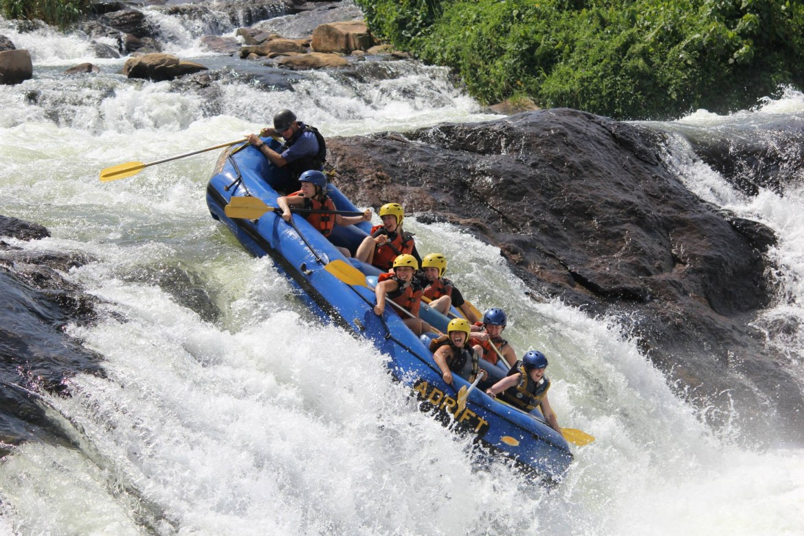 White Water Rafting, Nile River, Uganda
