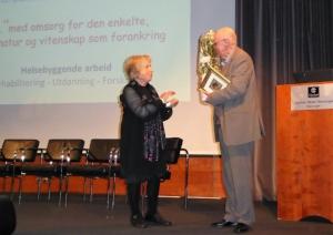 Dr. Elisabeth Dramsdahl og Kjell Pahr-Iversen