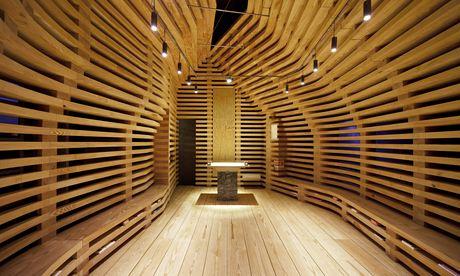 Modern design at the Chapel Tree of Life, Braga, Portugal. Photograph: Nelson Garrido