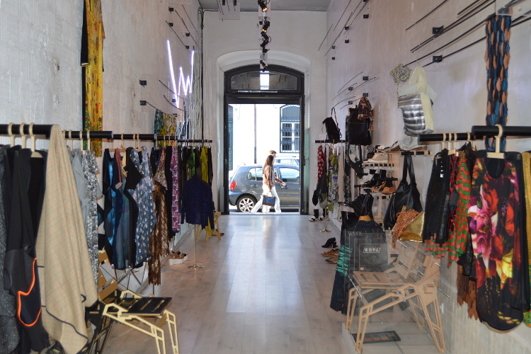 Lidja Kolovrat's boutique in Principe Real. Image by Kate Armstrong / Lonely Planet