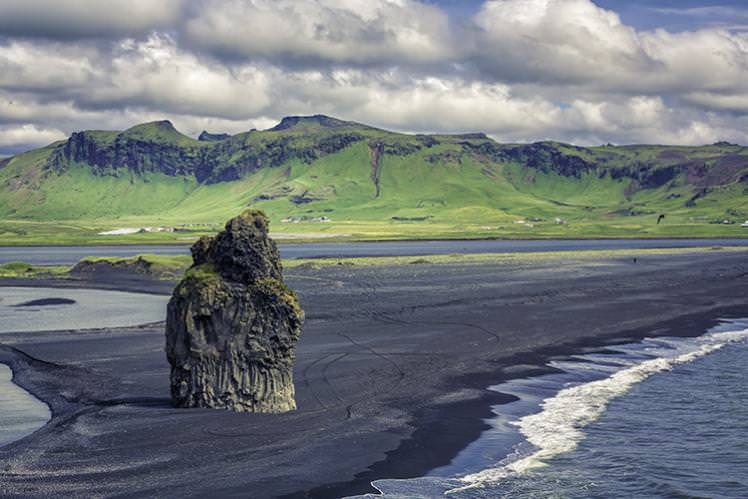 Gothic and other-worldly: Iceland's Vik Beach. Image by marchello74 / Shutterstock