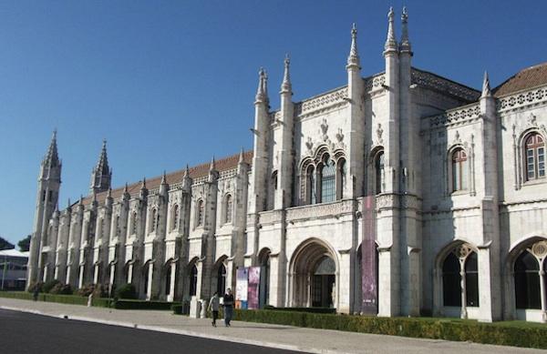 El Monasterio de los Jerónimos en Belém