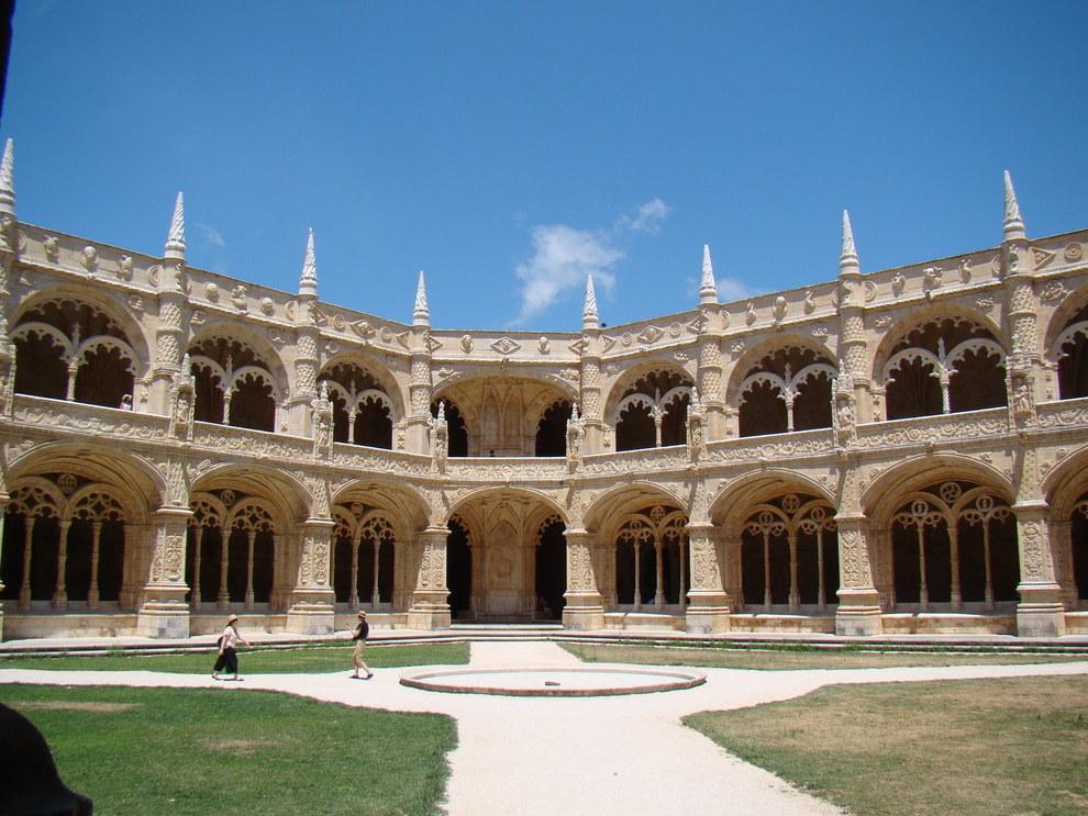 Monastère des Hiéronymites à Lisbonne.