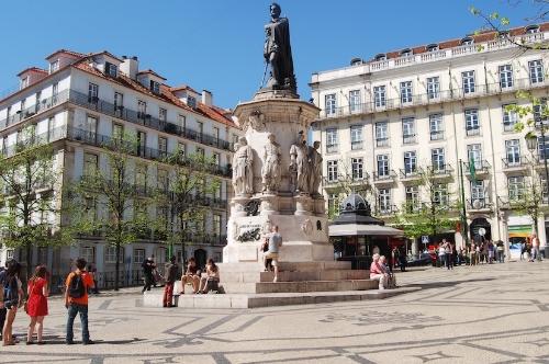 Luís de Camões, Lisbon