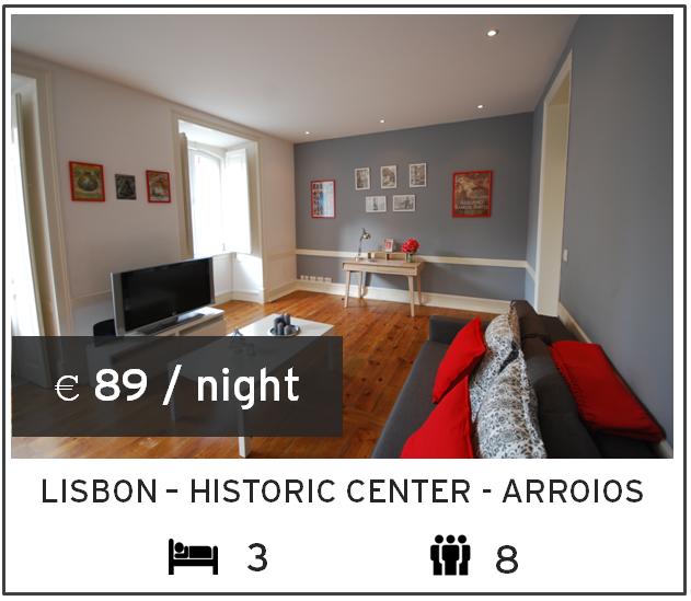 3 bed apartment in graça