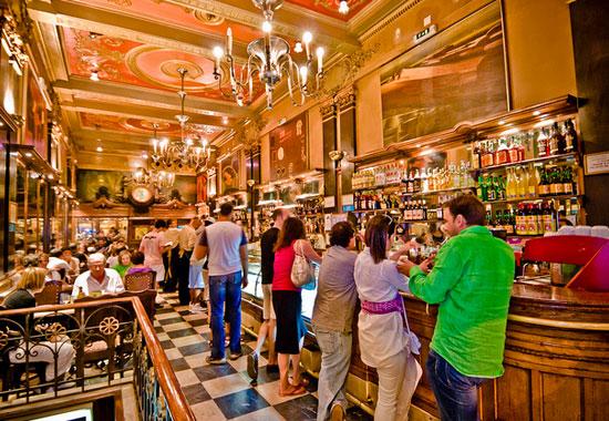 Café a Brasileira  Rua Garrett 120 1200, Lisbon | +351 213 469 541
