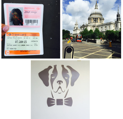 London travel card - St. Paul's on my way to work - Hodes logo