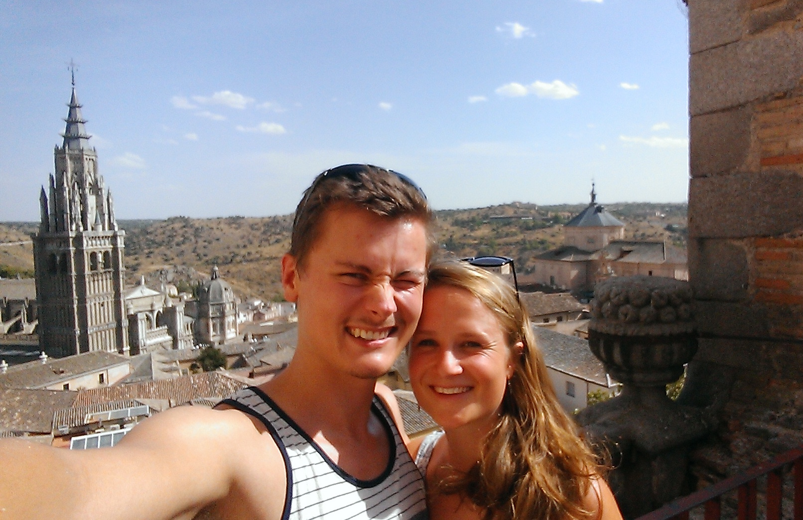 Toledo with a friend.jpg