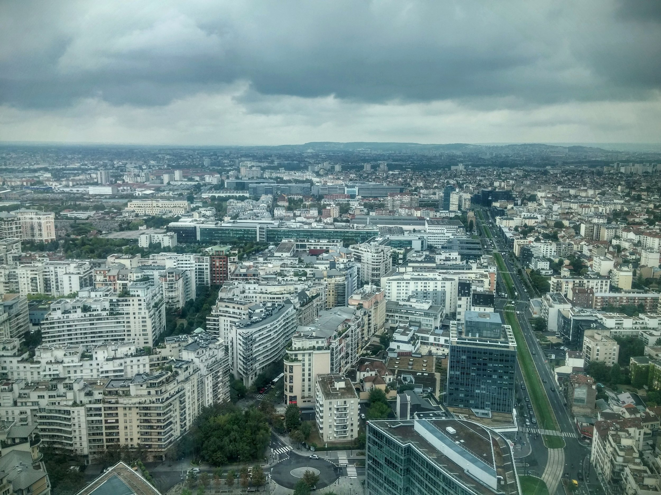 Paris from the 30th floor
