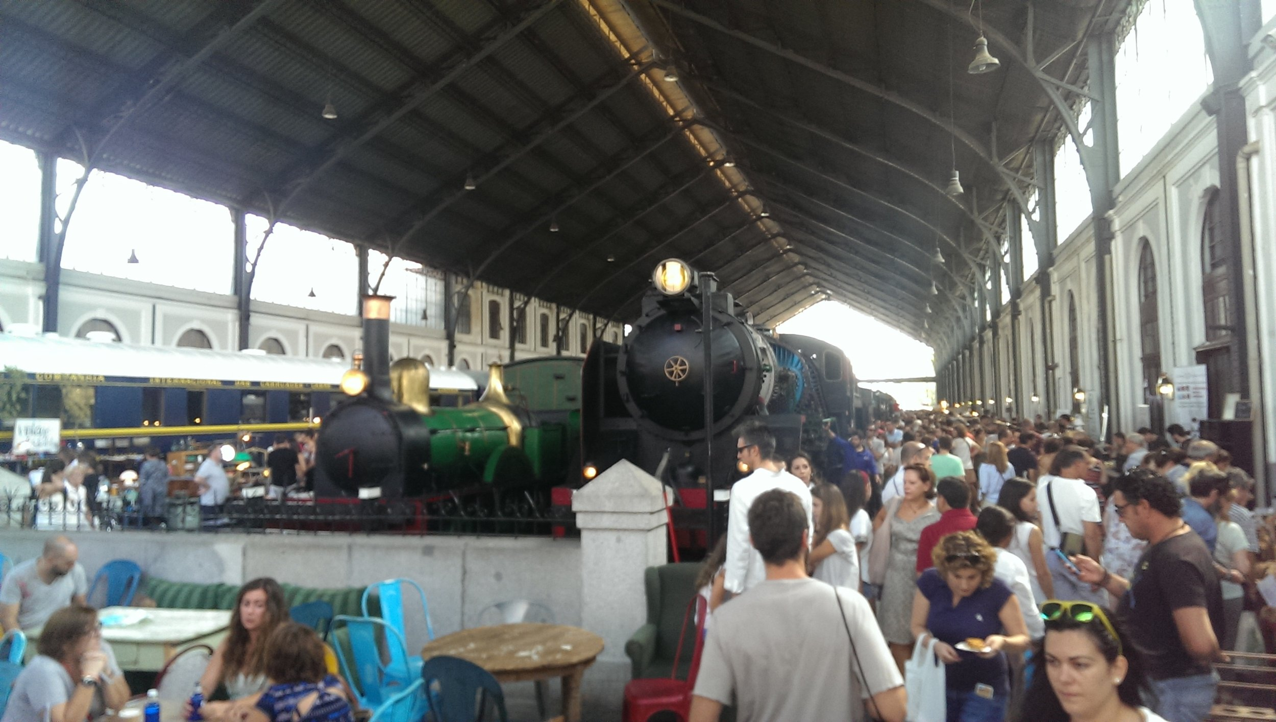 Monthly handicraft market in the railway museum
