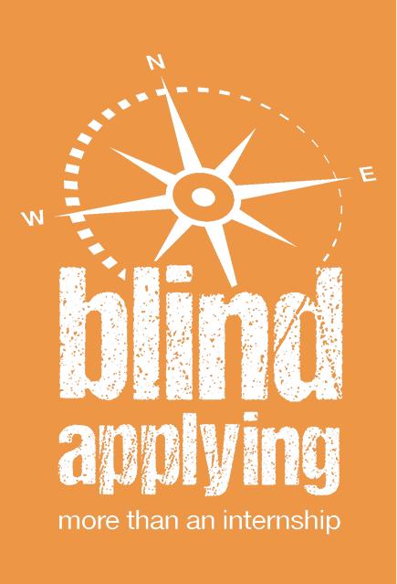 Blind Applying logo