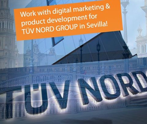 Blind Applying's #adventcalendar of today. Work for TÜV NORD GROUP in the sunny south of Spain: Sevilla! Want to know more? Go to: http://www.blindapplying.com/tuevnordgroup/  #sevilla #spain #internship #dreaminternship  #internshipabroad #careerboost #europe #intern #espana #tuvnord #digitalmarketing #studentexperience