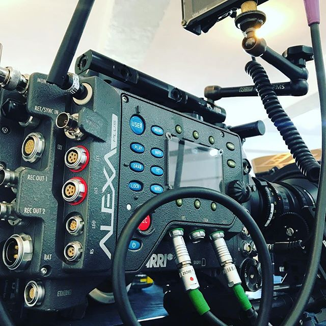 Arri Alexa Plus with wireless follow focus and iris #arrialexa #wcu3 #angenieux