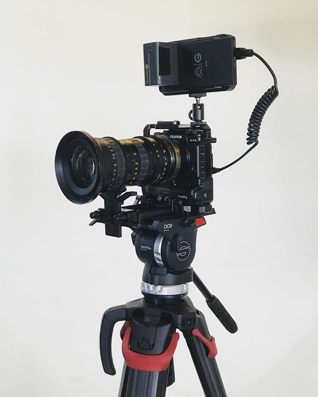 PL Lenses on the X-T3? ✅ Fuji X-T3 / Angenieux 30-80 / Atomos Ninja V / Flowtech 75  #fujixt3 #angenieux #atomos