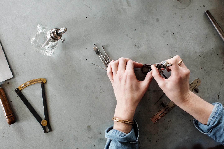 NEAL Jewelry.   Art Direction & Styling by  Bodega, Ltd.