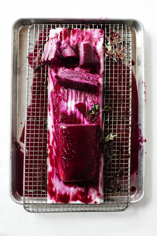 Beet Terrine.  Art Direction by  Bodega, Ltd.
