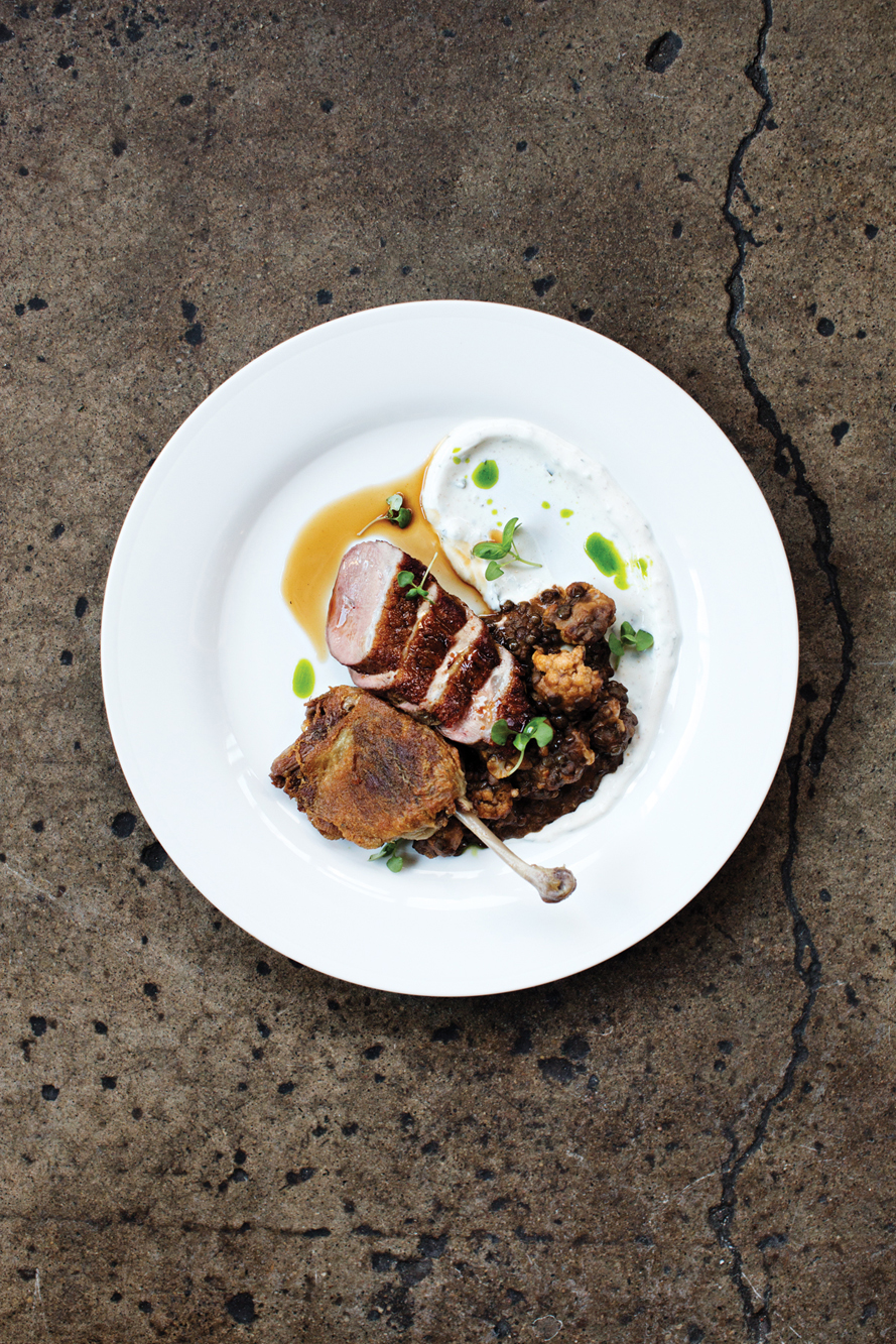 Duck at  Restaurant Alma  for  Mpls.St.Paul Magazine