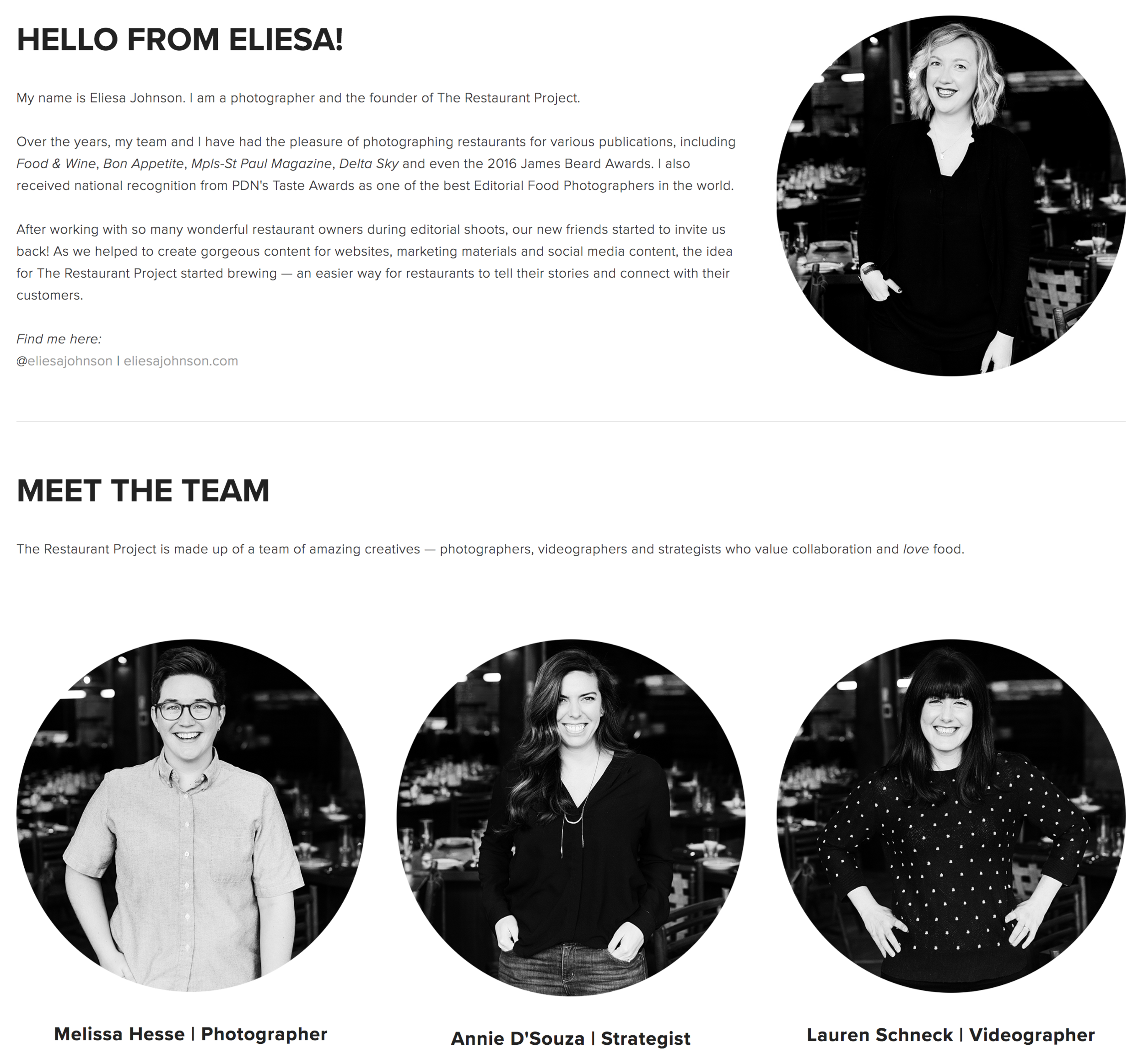 Meet our Team!
