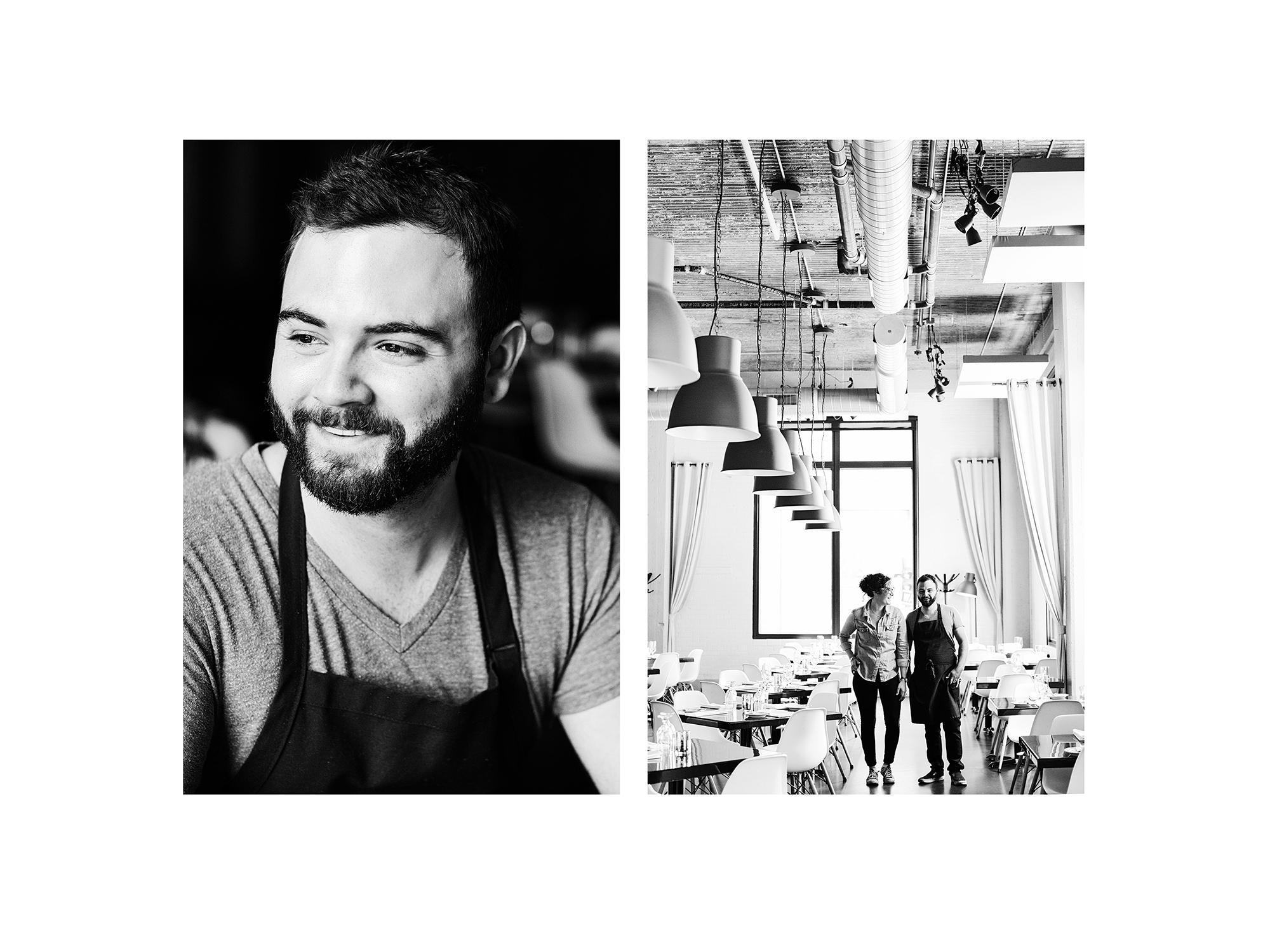 Adam Eaton and Laurel Elm of Saint Dinette