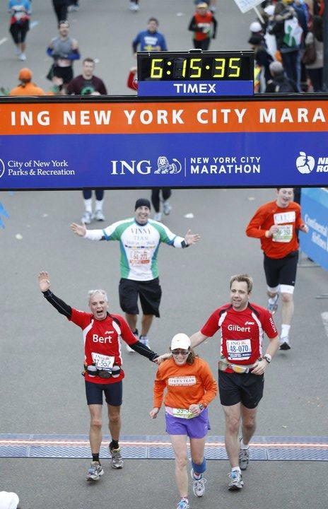 2010 NYC Marathon - Finish Line