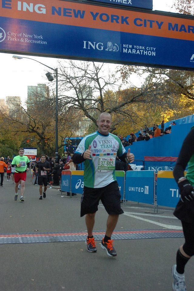 2011 NYC Marathon - Finish Line