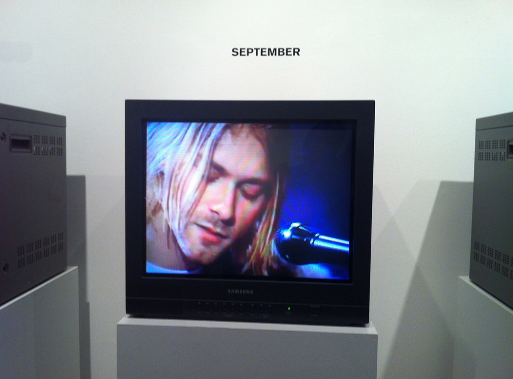 Video installation and accompanying booklet documenting a year's worth of what happened in 1993. each TV depicted one month. This was created by the museum in collaboration with Claire Lehmann, Sarah Stephenson and This is our work.