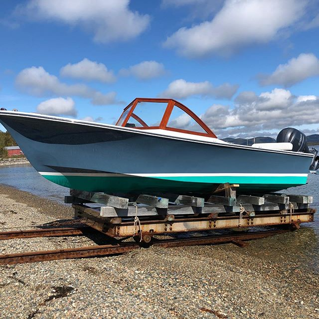 Launched and sea-trialed the Tip Sea last week. This is one speedy little boat! Looking sharp after her winter upgrades. Owner arrives today to check her out. #newmanandgray #winterswork #holdontoyourhats