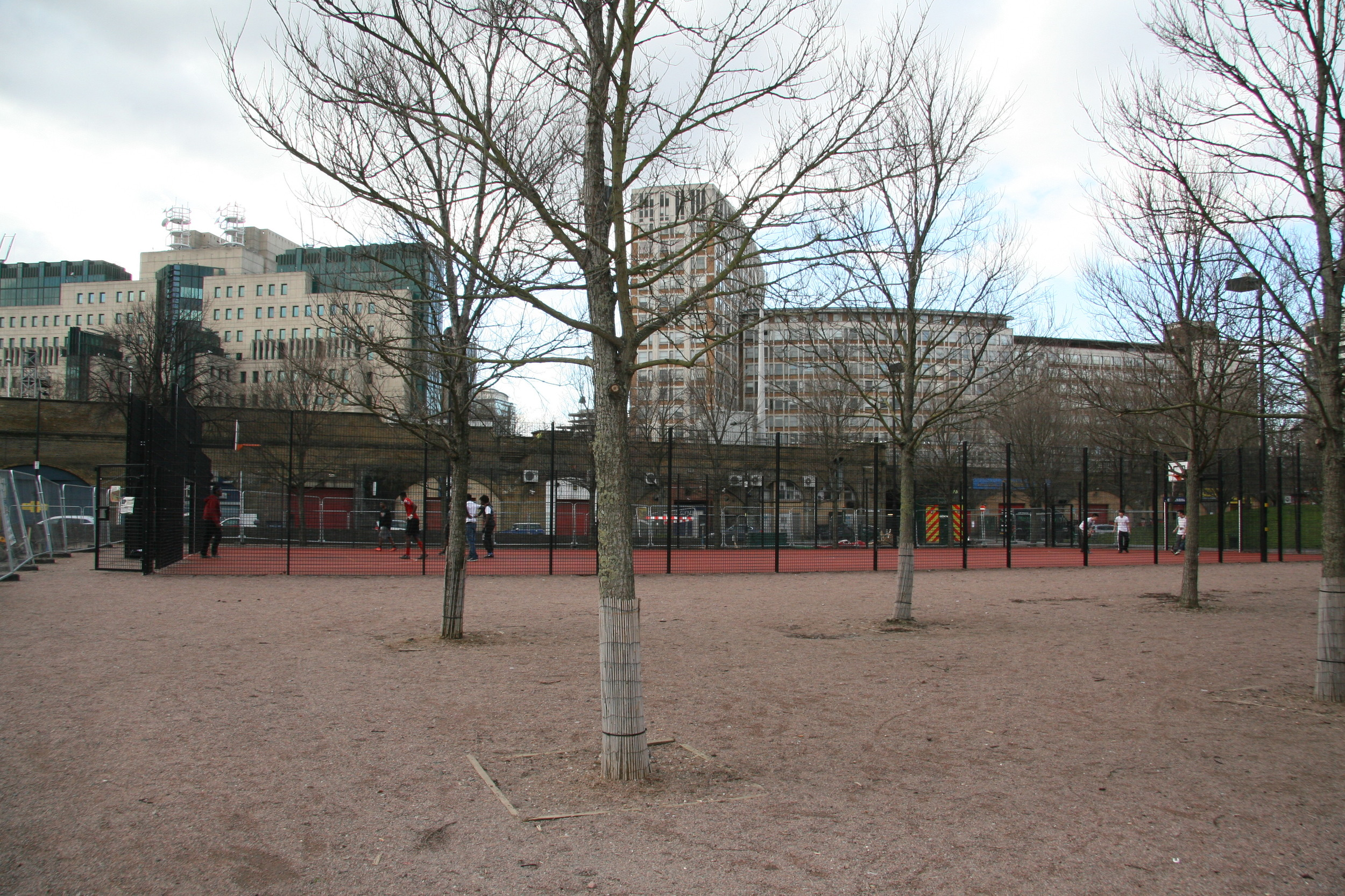 The Elm Square and Multi Use Games Area (2010)