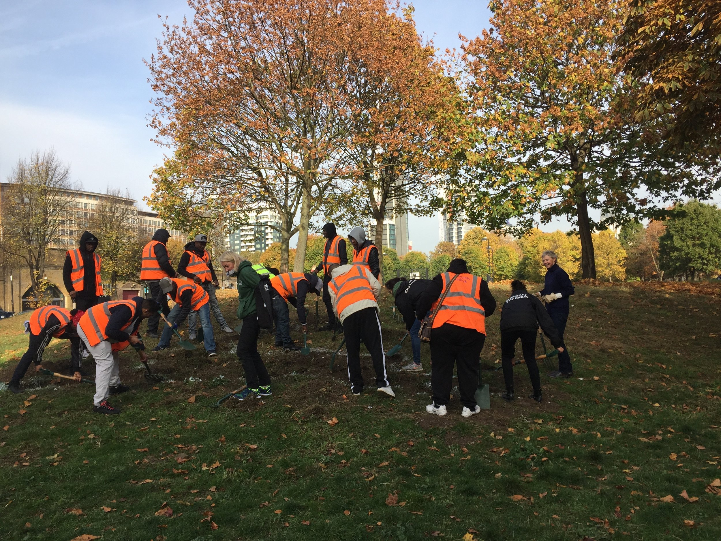 Theresa Hoare and the Community Payback team