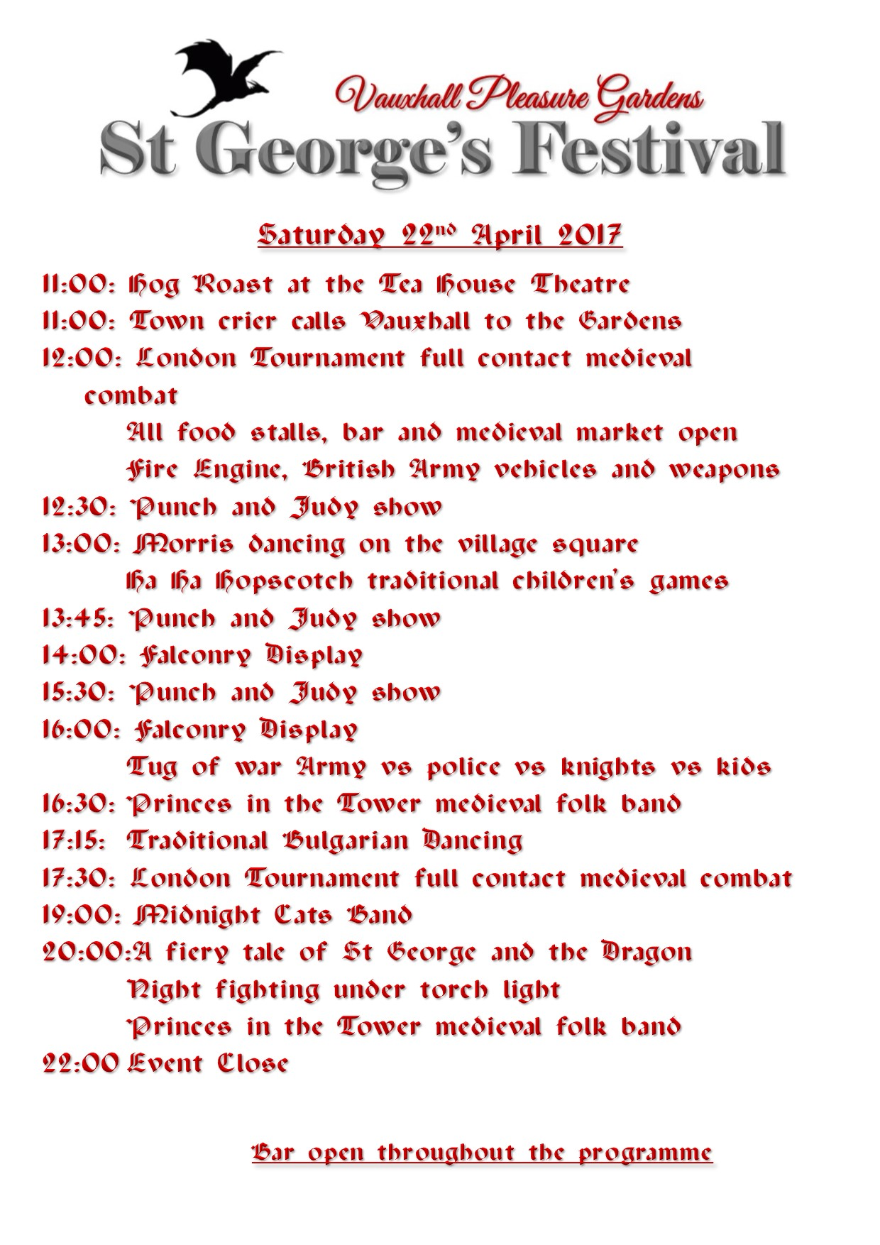 Running Order St George 2018 Saturday.jpg