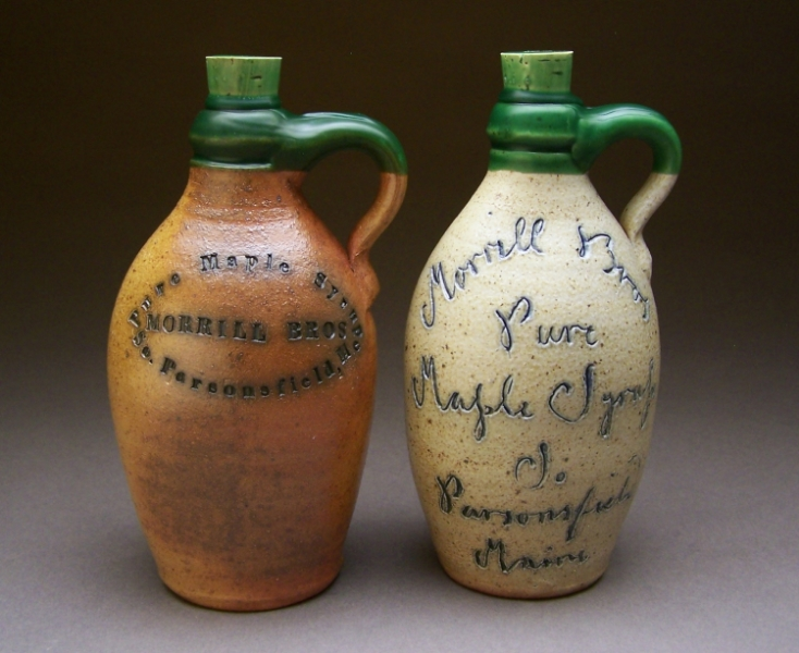 Jugs containing syrup  wax sealed $52