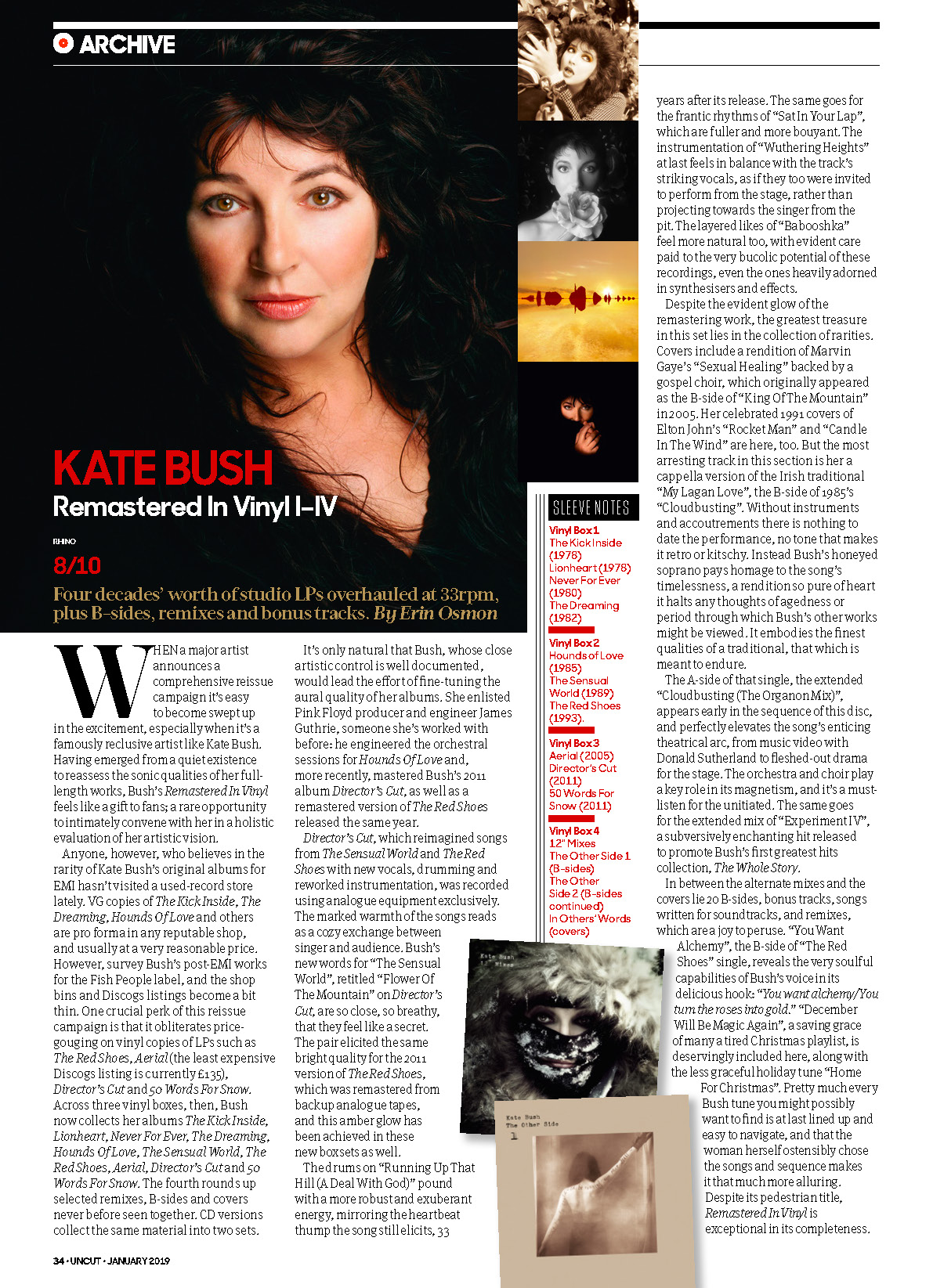 Kate Bush  Remastered In Vinyl I-IV