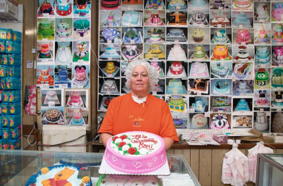 'BRONX TRADES' Project, Valencia Bakery, Decorator Nancy Reyes, 2012.    Martine Fougeron