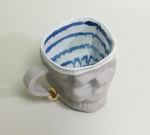 Skull Cup interior