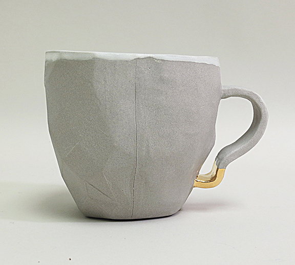 Skull Cup back view