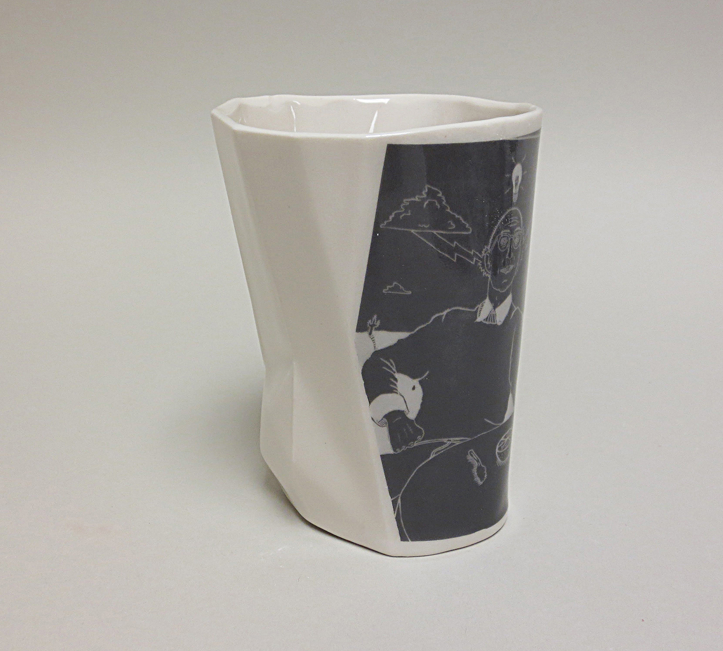 Collabo Cup 1st generation: Tim (left view)