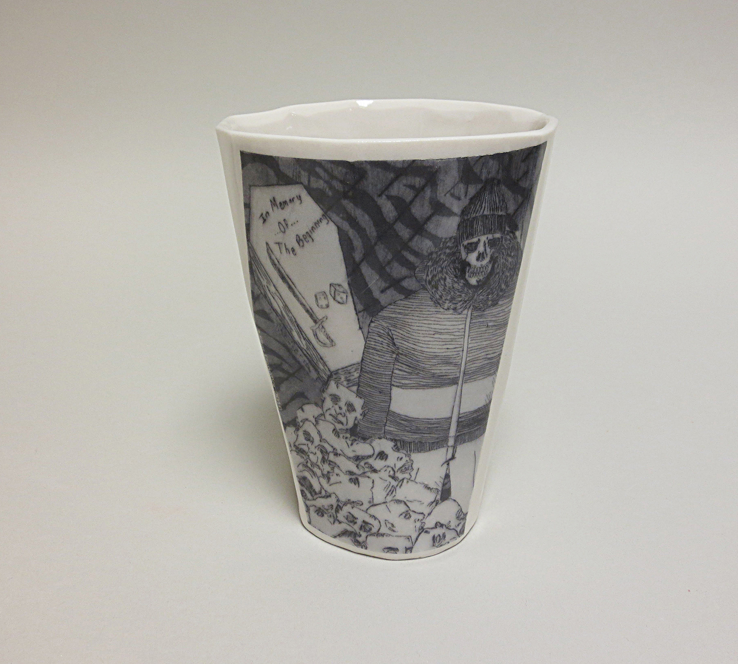 Collabo Cup 1st generation: Miller (front view)