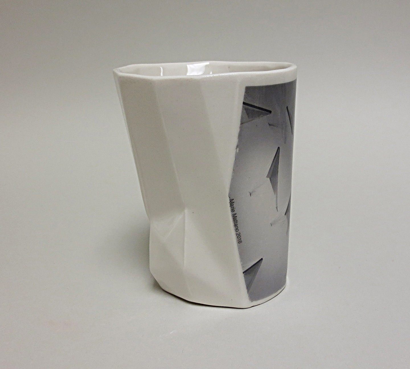 Collabo Cup 1st generation: Marie (left view)