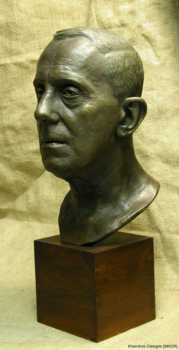 Lifesize bust private collection in NJ