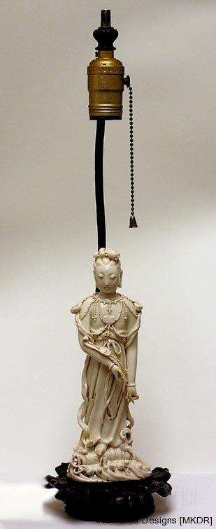 19th Century Chinese Ivory massively repaired