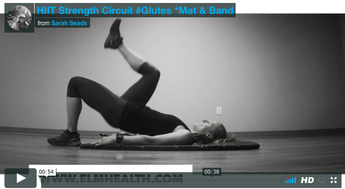 HIIT Strength Circuit #Glutes