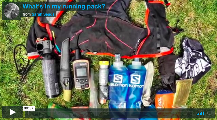 What's in my pack?